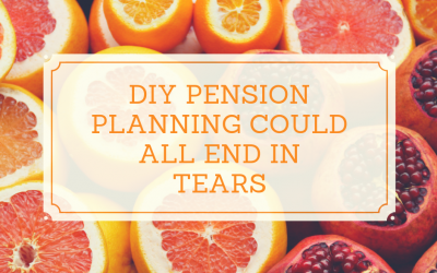 DIY Pension planning could all end in tears