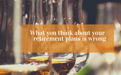 What you think about your retirement plans is wrong