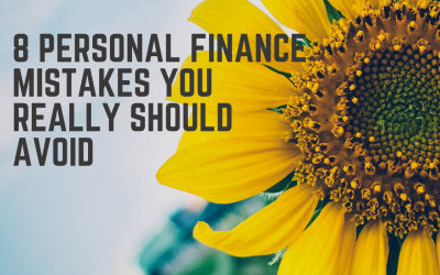 8 Personal Finance mistakes you really should avoid